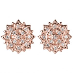 Aditi Earrings In Rose Gold