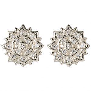 Aditi Earrings In Sterling Silver