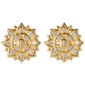 Aditi Earrings In Yellow Gold