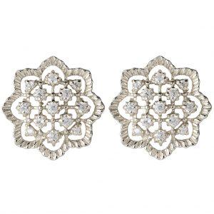 Agra Earrings In Sterling Silver