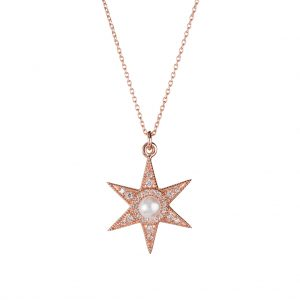 Alexis Necklace In Rose Gold
