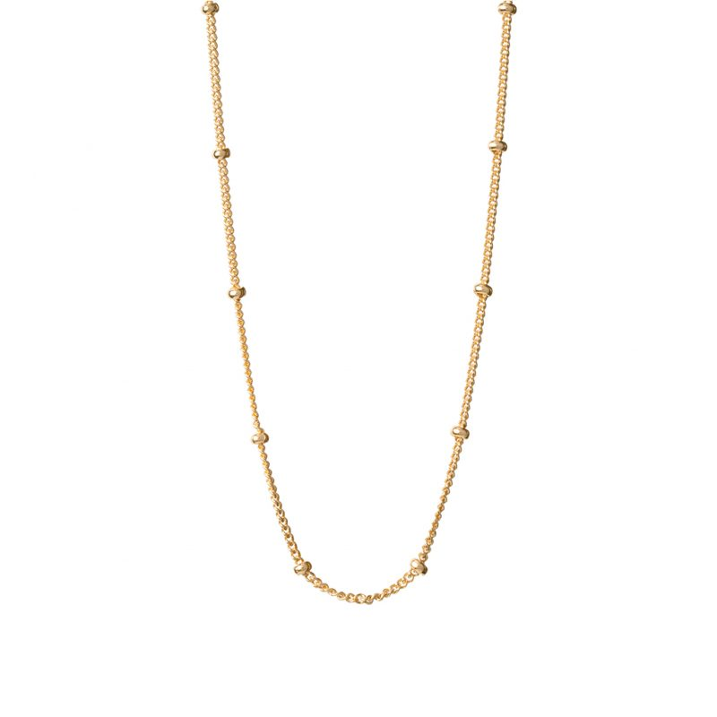 Bamboo Chain In Yellow Gold