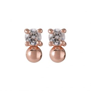 Candy Earrings In Rose Gold