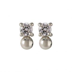 Candy Earrings In Sterling Silver