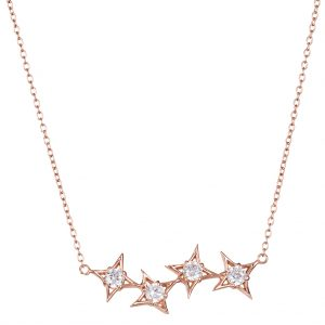 Constellation Necklace In Rose Gold