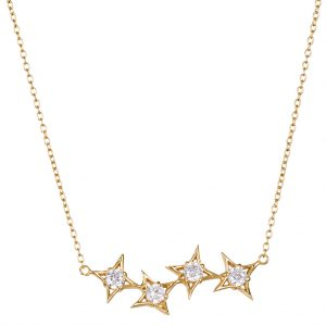 Constellation Necklace In Yellow Gold
