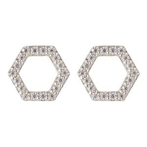 Copenhagen Earrings In Sterling Silver