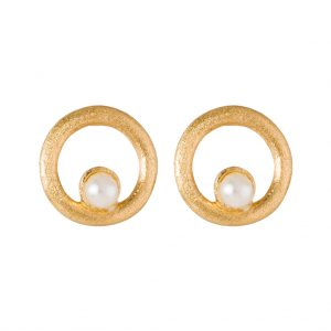 Elissa Earrings In Yellow Gold