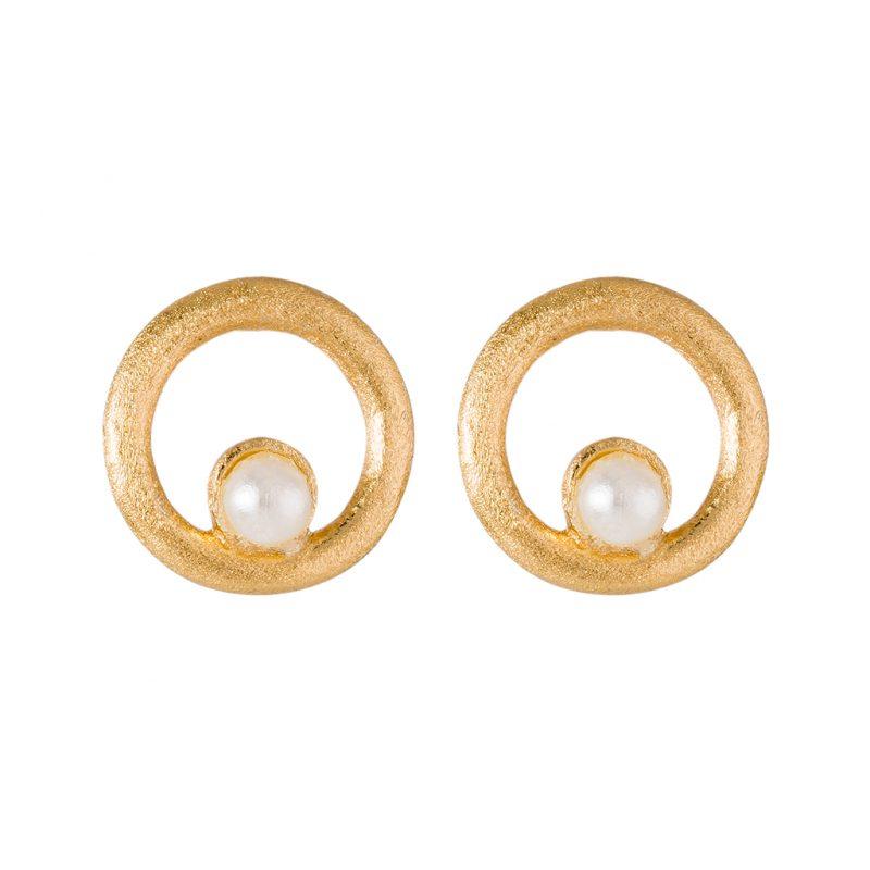 Elissa Earrings In Yellow Gold