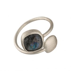 Fjord Ring In Sterling Silver