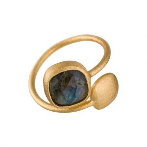 Fjord Ring In Yellow Gold