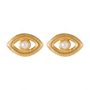 Leticia Earrings In Yellow Gold