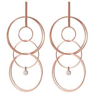 London Drop Earrings In Rose Gold