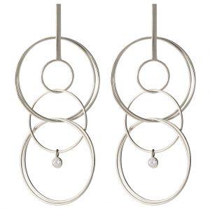 London Drop Earrings In Sterling Silver