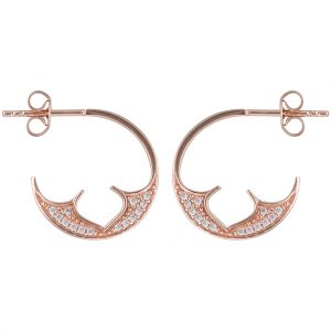 Marrakesh Hoops In Rose Gold