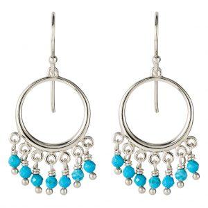 Navajo Earrings In Sterling Silver