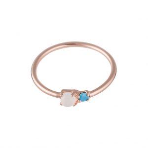 Nomad Ring In Rose Gold