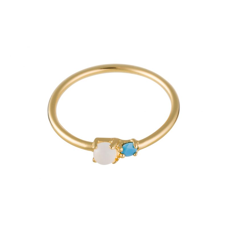 Nomad Ring In Yellow Gold