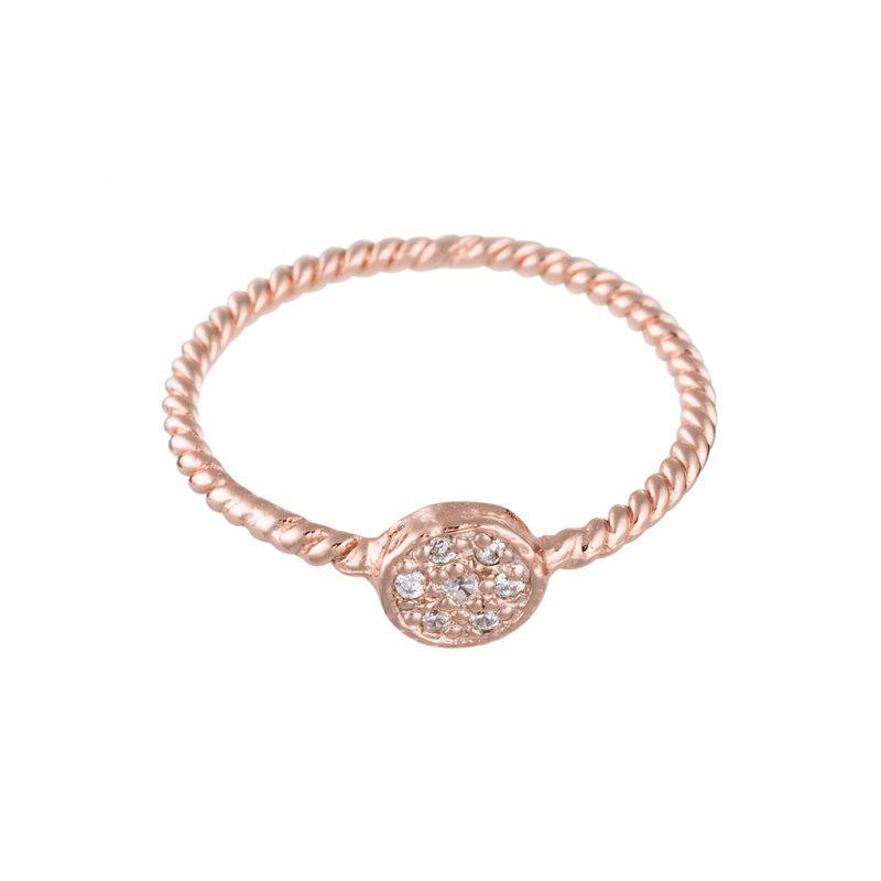 Odessa Ring In Rose Gold