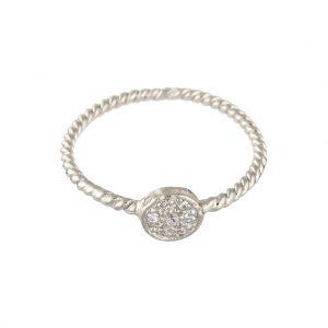 Odessa Ring In Sterling Silver
