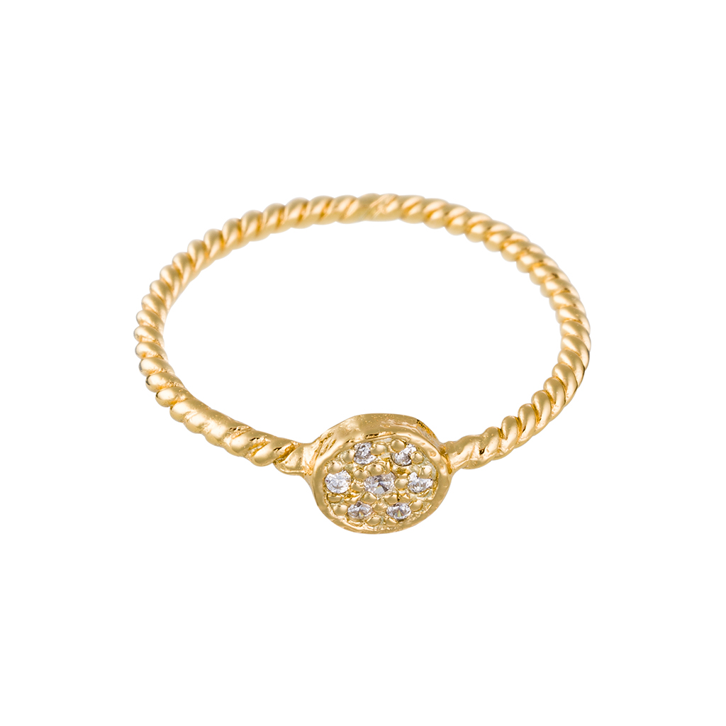 Odessa Ring In Yellow Gold