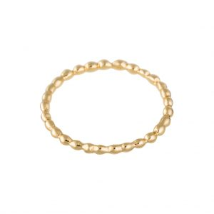 Pebble Ring In Yellow Gold