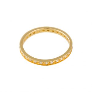 Shanghai Ring In Yellow Gold