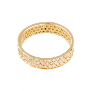 Tokyo Ring In Yellow Gold