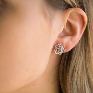 The Agra Earrings In Sterling Silver