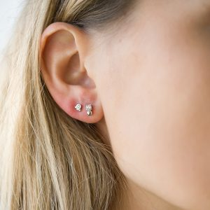The Candy Earrings & Kalinda Earring In Rose Gold
