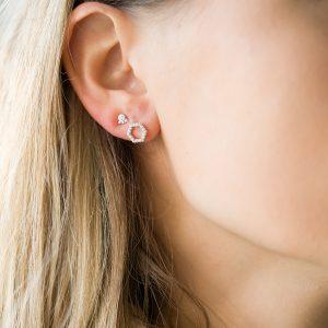 The Copenhagen Earrings & Kalinda Earring In Sterling Silver