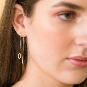 The Dubai Thread-Through Earrings