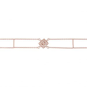 The Lawan Bracelet In Rose Gold