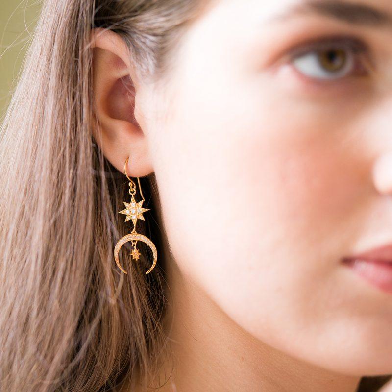 The Luna Earrings