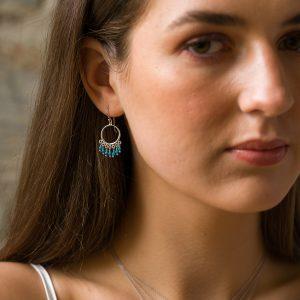 The Navajo Earrings