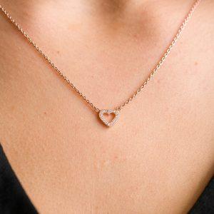 The Paris Heart Necklace