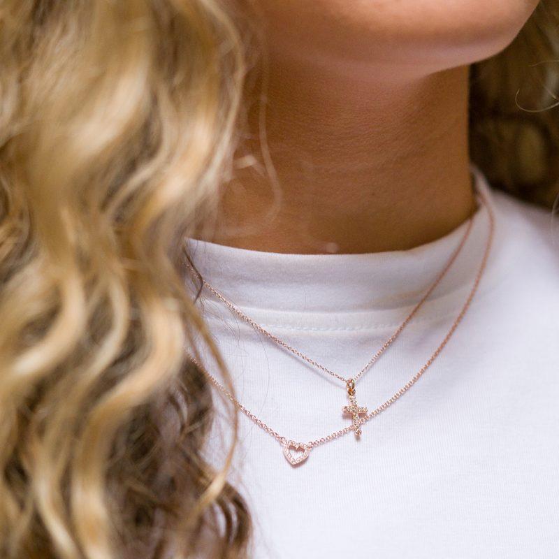 The Paris Heart Necklace & The Seville Necklace