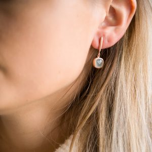The Reykjavik Earrings In Rose Gold