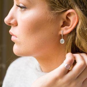 The Skÿ Ring & The Reykjavik Earrings