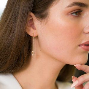 The Shanghai Thread-Through Earrings
