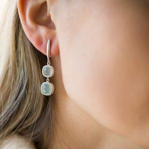 The Tromsø Earrings In Sterling Silver