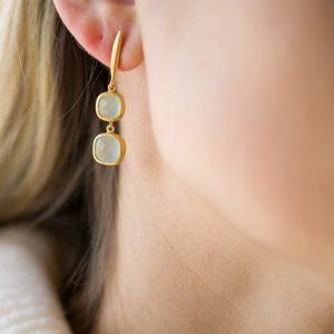 The Tromsø Earrings In Yellow Gold