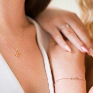 Zodiac Necklace & The Candy Bracelet