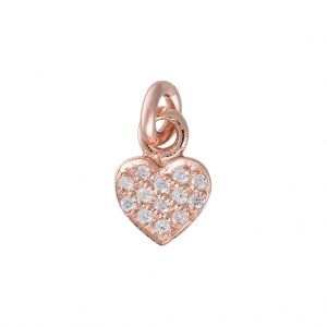Amore Charm In Rose Gold