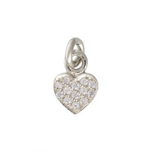 Amore Charm In Sterling Silver