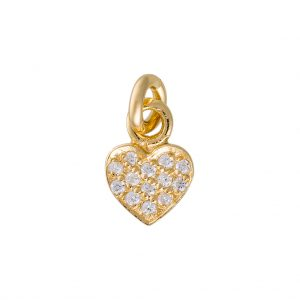 Amore Charm In Yellow Gold