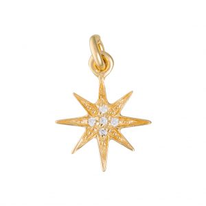 Celeste Charm In Yellow Gold