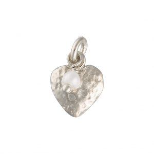 Cwtch Charm In Sterling Silver