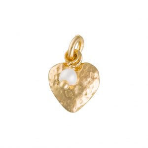 Cwtch Charm In Yellow Gold
