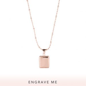 The Frida Necklace In Rose Gold